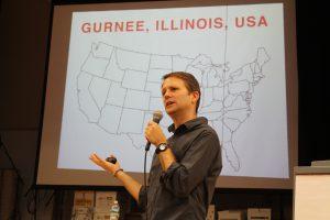 Author Matthew Cordell