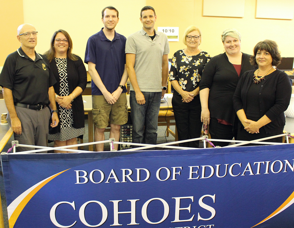 2019-20 Cohoes board members